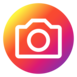 instagram round 77x77 icon